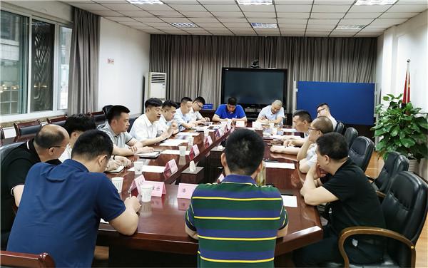 吉林省人社厅来川考察座谈工伤预防工作